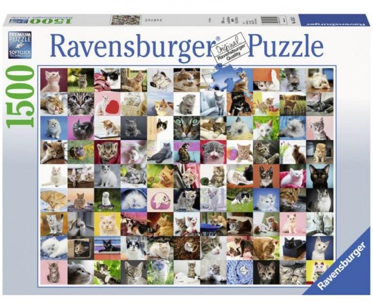 Ravensburger Puzzel 99 Katten (1500)