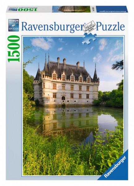 Ravensburger puzzel kasteel van azay-le-ride (1500) Ravensburger