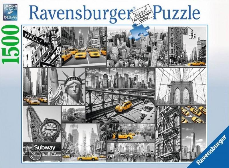 Ravensburger Puzzel New York (1500)