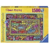 Ravensburger Puzzel James Rizzi (1500)