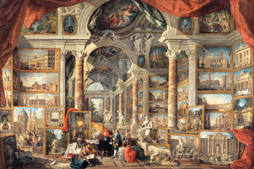 Puzzel giovanni paolo panini: beelden uit oude rome (5000) Ravensburger
