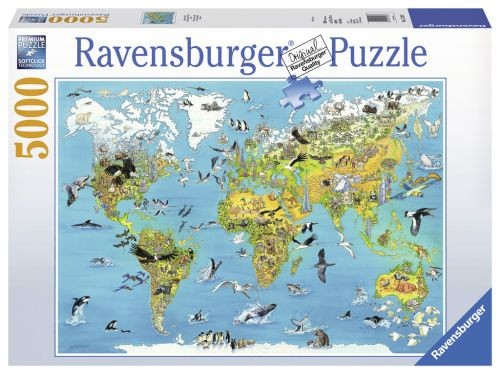 Ravensburger Puzzel Fascinerende Aarde 5000