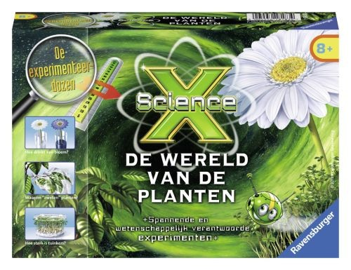 Ravensburger science x planten for Huis tuin en keuken proefjes