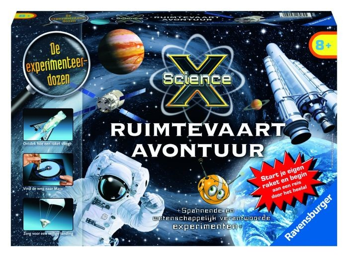 Ravensburger Science X Ruimtevaart
