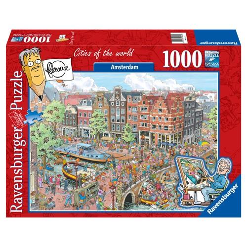 Ravensbruger puzzel Amsterdam (1000)