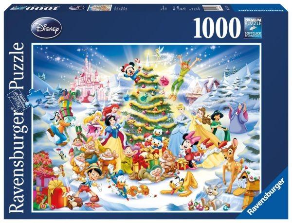 Ravensburger gt puzzels 1000 stukjes gt puzzel kerst met disney 1000