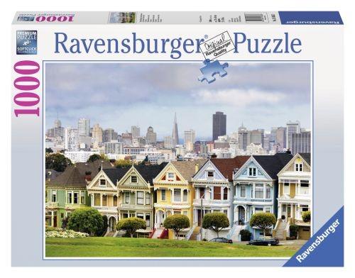 Ravensburger puzzel Painted Ladies San Francisco (1000)