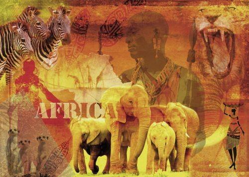 Ravensburger puzzel impressies van afrika 1000