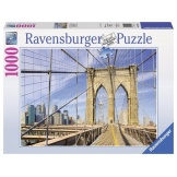 Ravensburger puzzel Op de Brooklyn Bridge (1000)