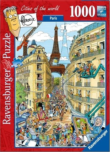 Ravensburger Puzzel Fleroux Paris (1000)