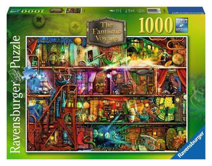 Ravensburger puzzel fantastic voyage (1000) Ravensburger