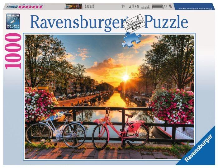 Ravensburger Puzzel Fietsen in Amsterdam (1000)