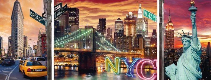 ... Ravensburger > Puzzels 1000 stukjes > Puzzel New York Verlicht (1000