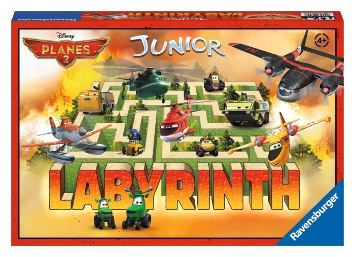 Ravensburger Spel Labyrinth Planes Fire and Rescue