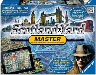 Ravensburger Spel Scotland Yard Master