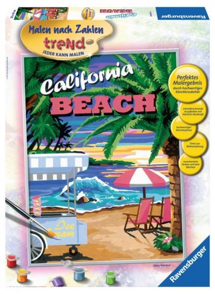 Ravensburger schilderen op nummer California Beach
