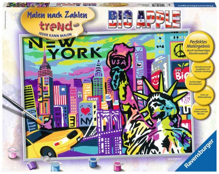 Ravensburger Schilderset Big Apple