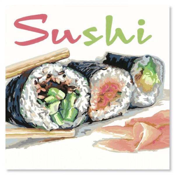 Ravensburger Schilderen op Nummer Sushi