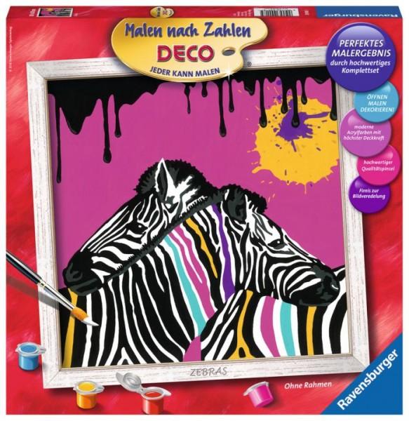 Ravensburger Schilderen op Nummer Zebra's