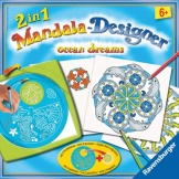 Ravensburger 2 in 1 Mandala Designer Ocean Dreams