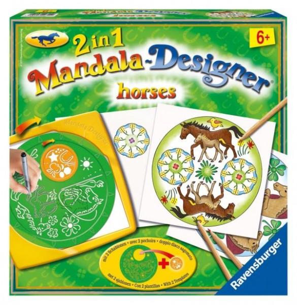 Ravensburger Mandala Midi Horses 2in1