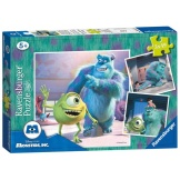 Ravensburger Puzzel Disney Monsters Inc (3x49)