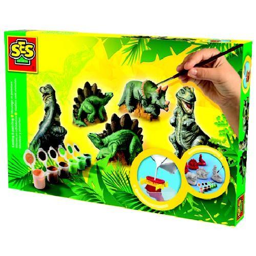 SES Gips gieten en Dino's schilderen