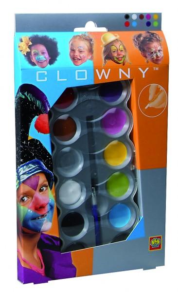 Aquaschmink in 10 kleuren trendy