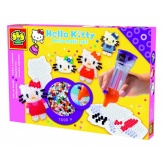 Ses hello kitty strijkkralenset met bordje