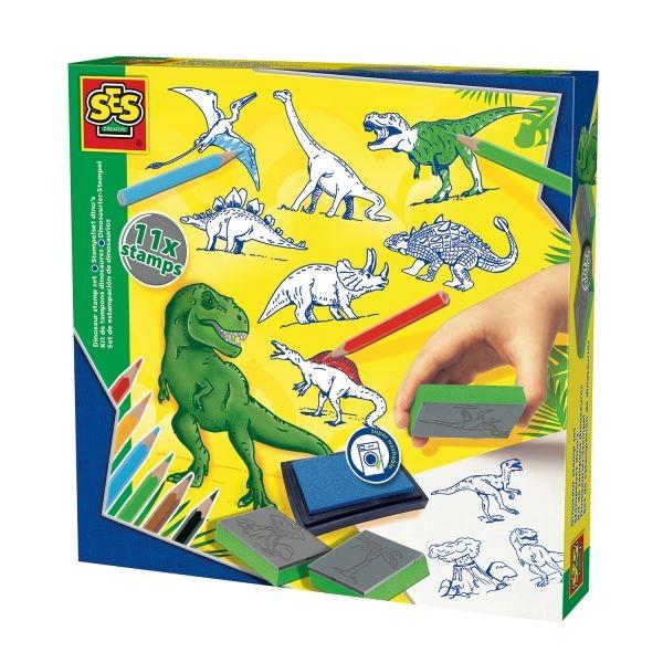 Ses Stempelset Dino's