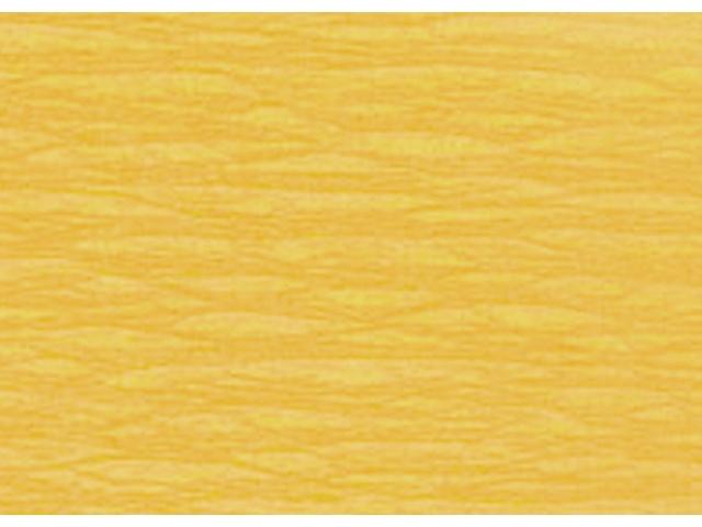 Crepepapier geel