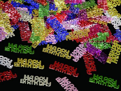 Confetti Happy Birthday