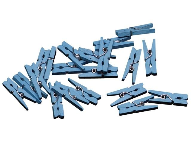 Miniknijpers blauw