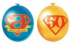 Ballonnen Abraham gezien