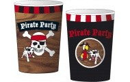 Beker Piraat 8 stuks