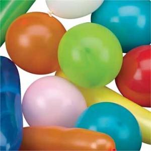 Balonnen 20 stuks assorti