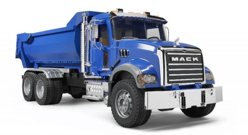 2823 Bruder Mack Granite Kiepwagen Halfpipe