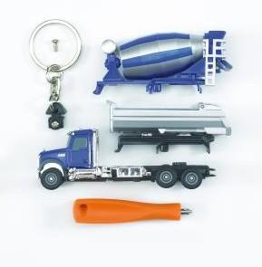 0611 bruder sleutelhanger betonauto