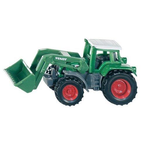 1093 Siku Tractor Fendt met Frontlader