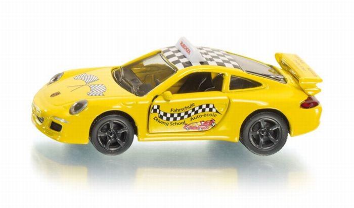 1457 Siku Porsche autorijschool voertuig