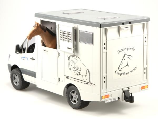 2533 Bruder Mercedes Sprinter Paardentransport