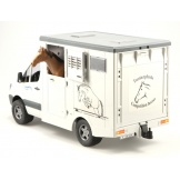 2533 Bruder Mercedes Sprinter Paardentransport