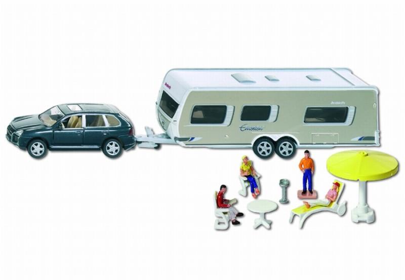 2542 siku auto met caravan