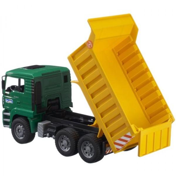 2765 Bruder Vrachtwagen M A N Met Kiepbak