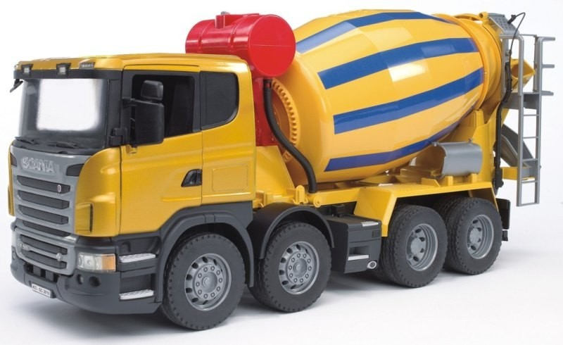 3554 Bruder Beton mixer Scania R serie