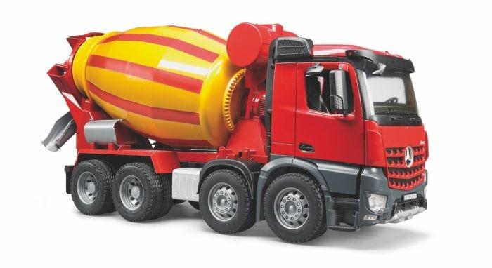 3654 bruder mercedes benz arocs betonwagen - Camion toupie playmobil ...