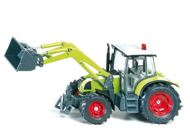3656 Siku Tractor Claas met frontlader