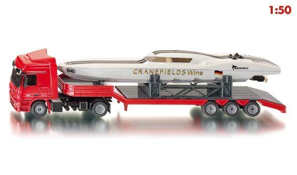3936 Siku Vrachtwagen met Powerboot
