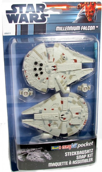 00651 Revell Millenium Falcon Star Wars Easy-kit