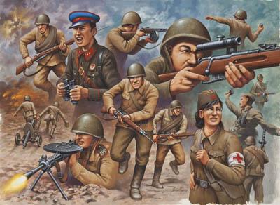 02510 revell wwii soviet infanterie